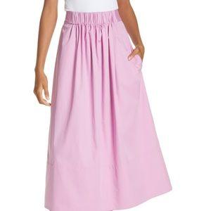 Tibi Pink  A line skirt